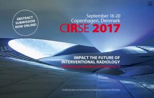 CIRSE 2017 Копенгаген 16-20 сентября 2017 года
