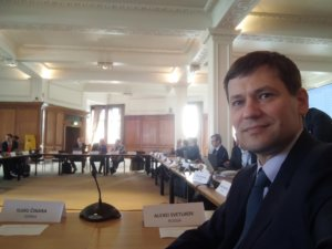 Заседании Правления Европейского общества сосудистых хирургов. Лондон, апрель 2019